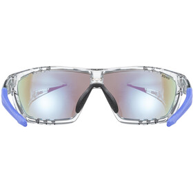 UVEX Sportstyle 706 Glasses clear/mirror blue